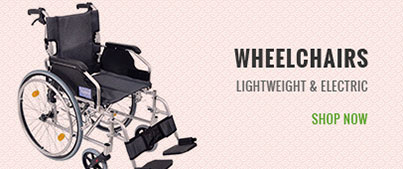 Wheelchairs-Lightweight & Electric
